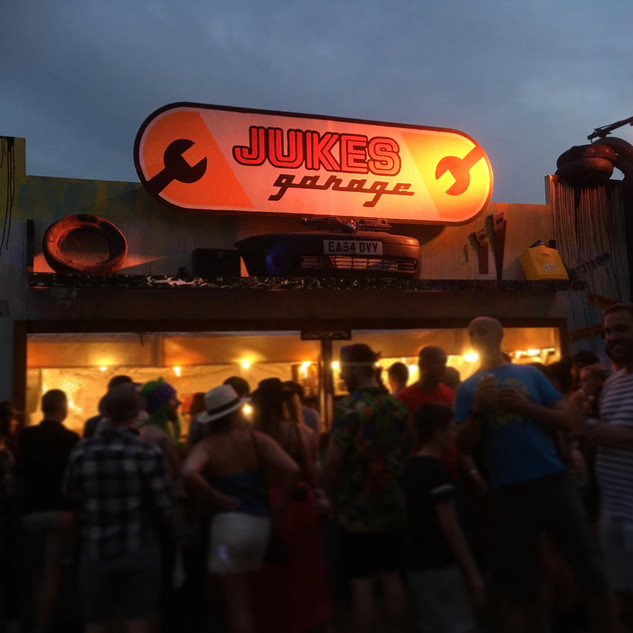 Jukes Garage Sign Design 2018