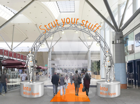 MILTON KEYNES ENTRANCE DESIGN