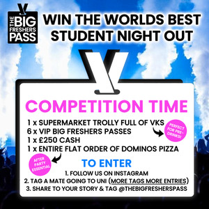 The Big Freshers Pass Poster Design