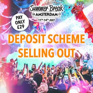 Summer Break Poster Design