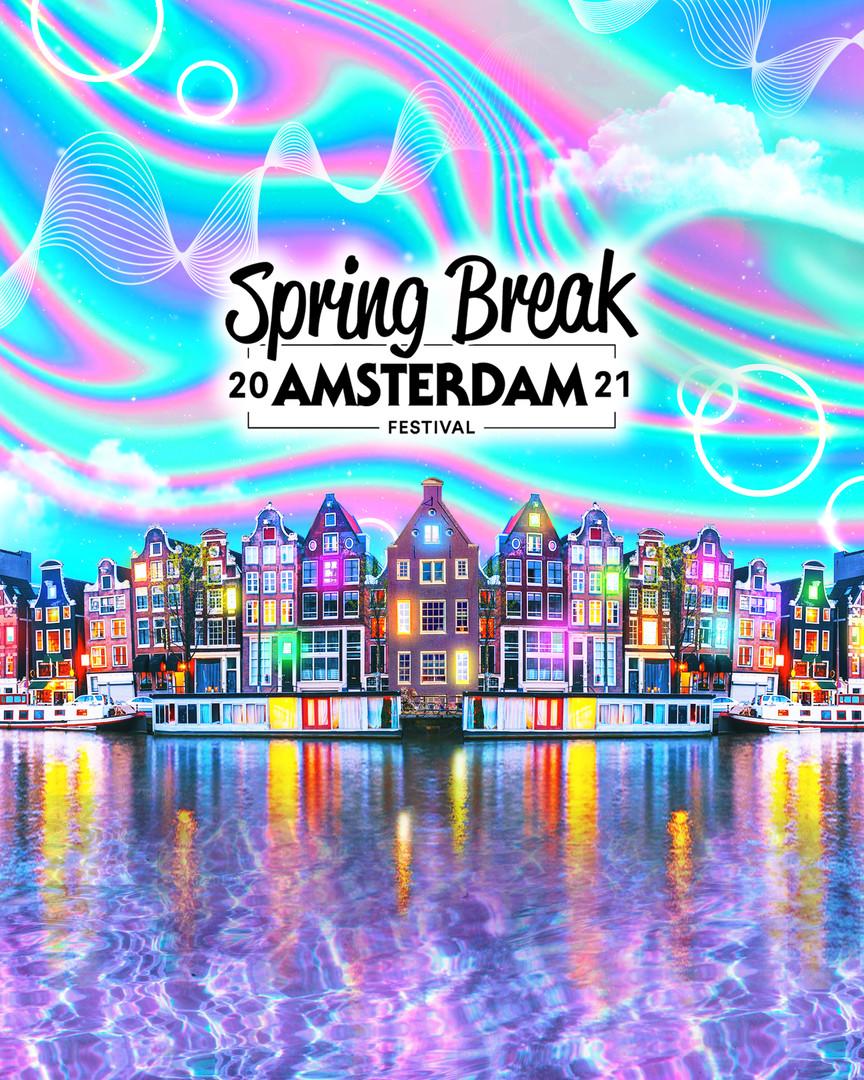 Spring Break Amsterdam Artwork