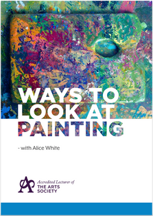 Alice White 'Ways To Look At Painting'
