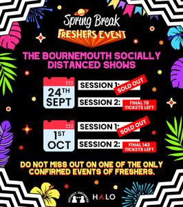Spring Break Freshers Rave Poster Design
