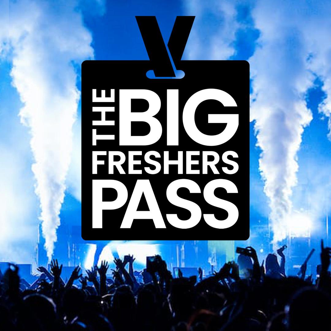 The Big Freshers Pass Logo Design