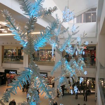 Intu Victoria Shopping Centre Christmas Fern
