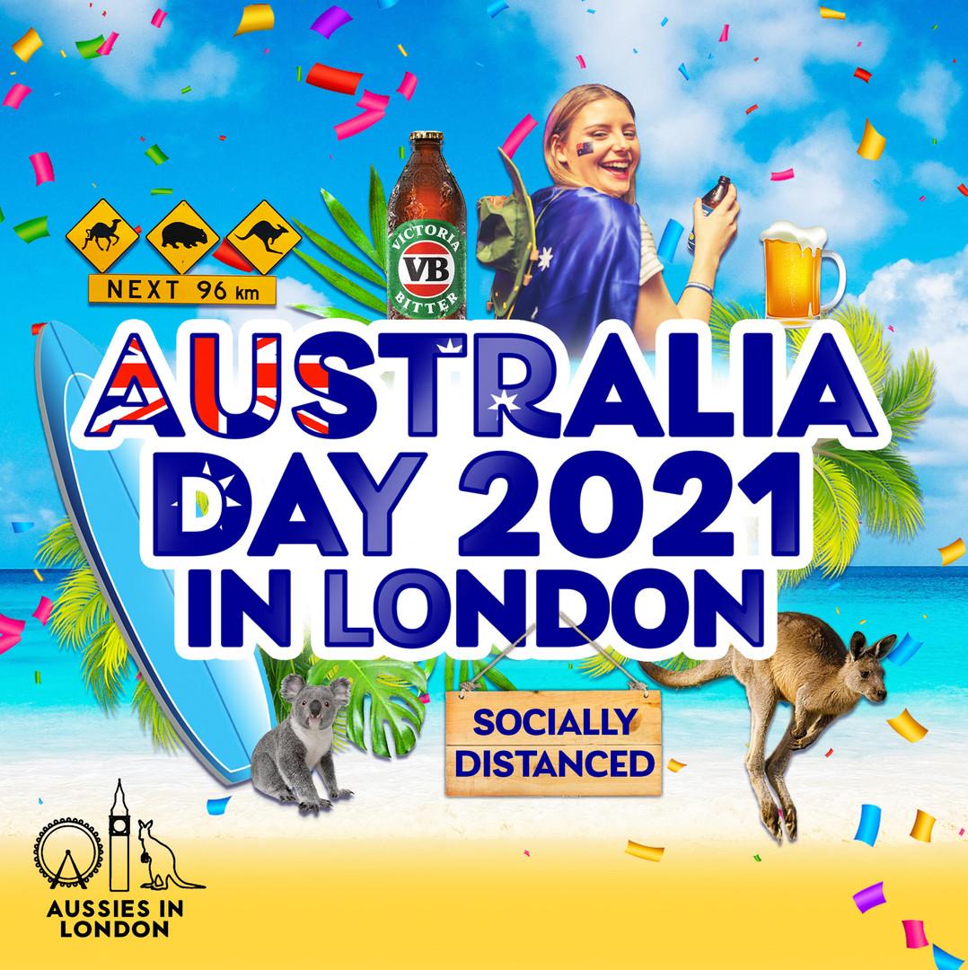 Australia Day Poster Design