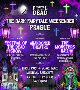Festival Of The Dead Line Up Poster Design