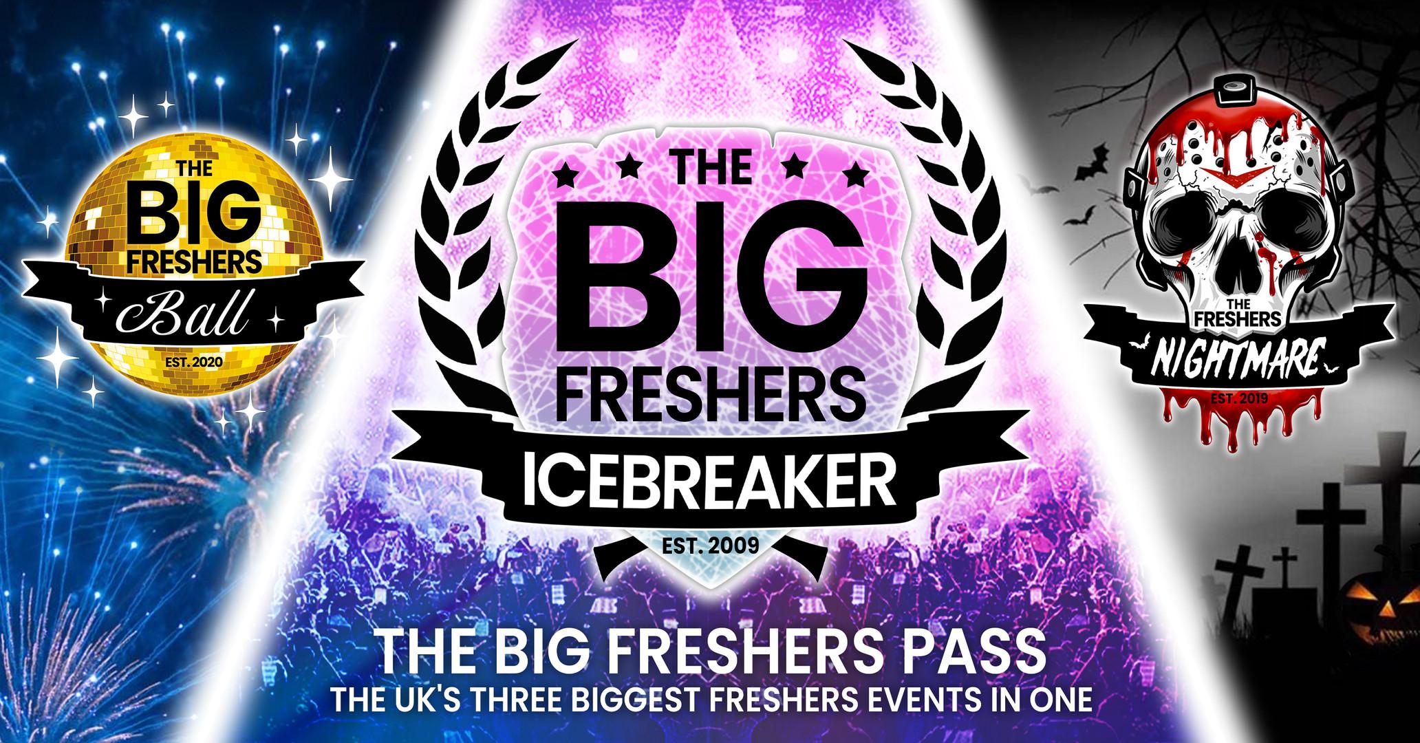 The Big Freshers Icebreaker Poster Design