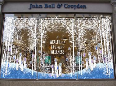 JOHN BELL & CROYDEN WINDOW DISPLAY