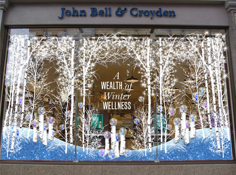 JOHN BELL & CROYDEN WINDOW DISPLAY