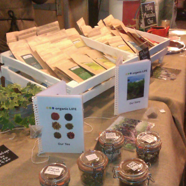 Borough Market - Organic Life Teas Booklets