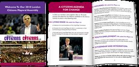 Citizens UK - Brochure Design