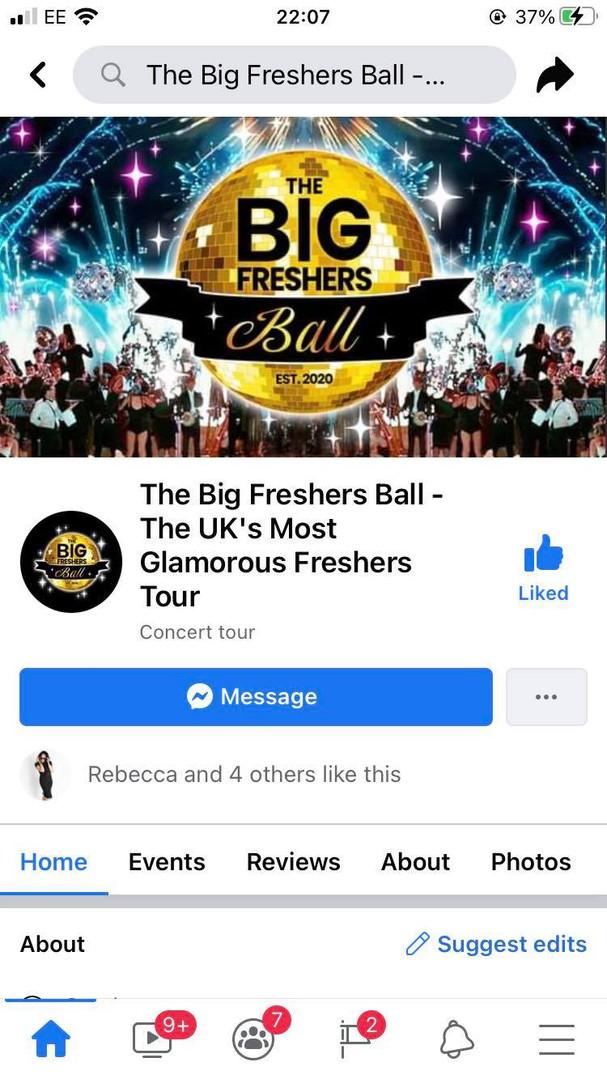 The Big Freshers Ball
