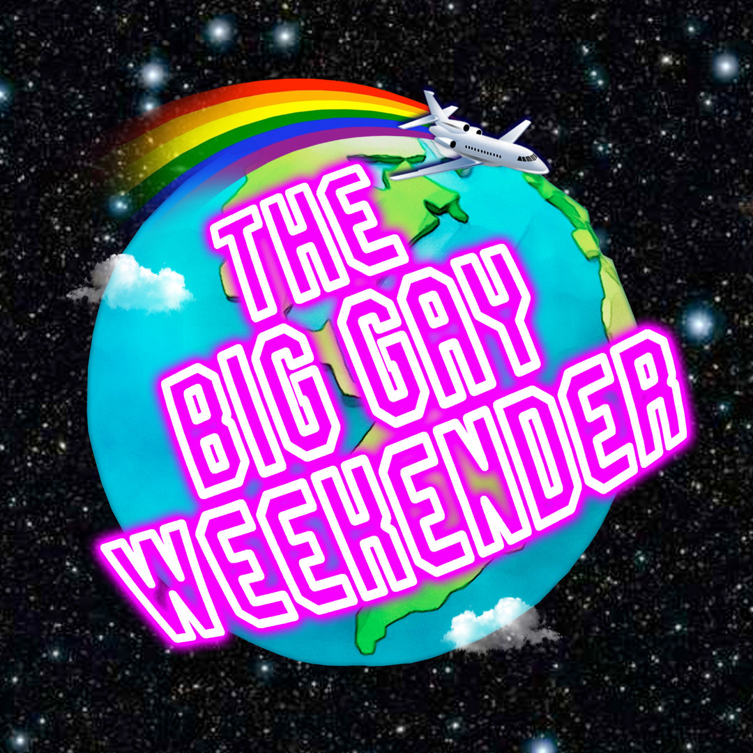 The Big Gay weekender Logo Design