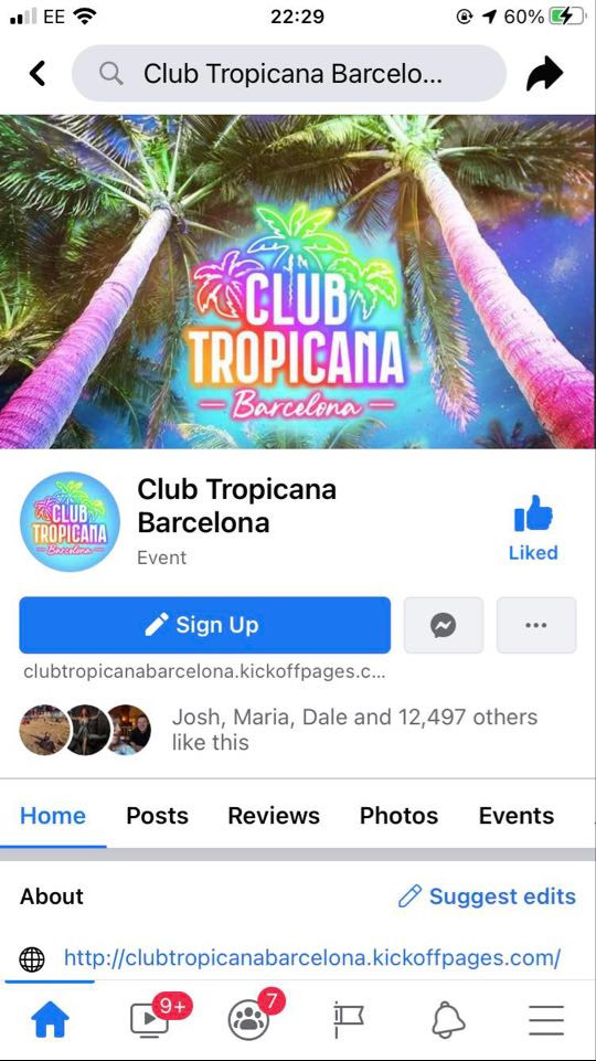 Club Tropicana Barcelona