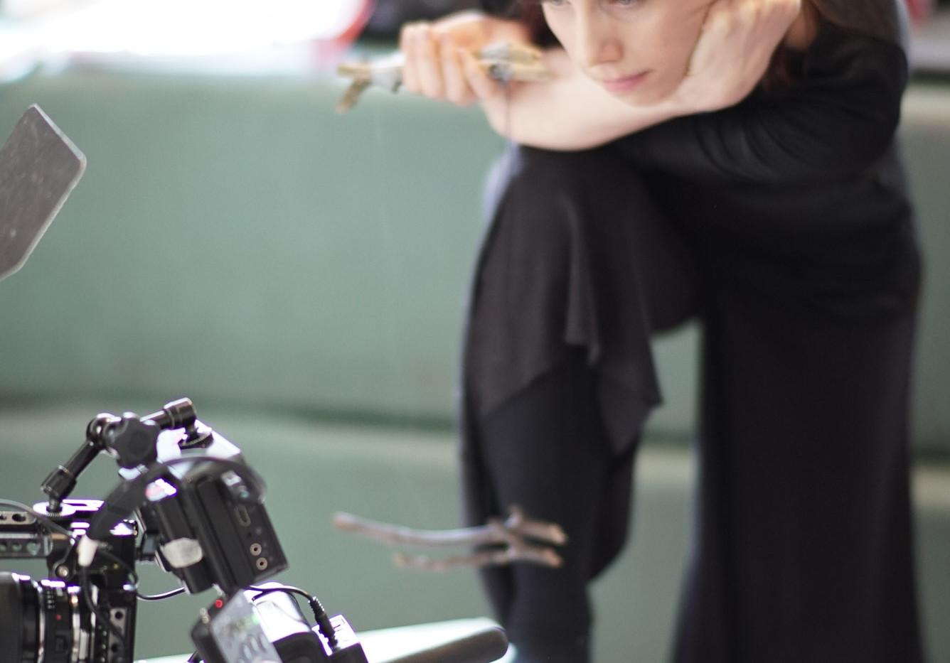 Filming 'The Fishsticks'