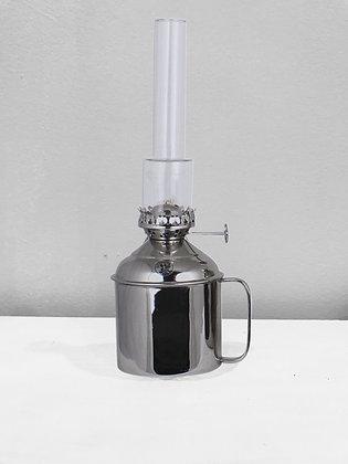 LAMPE A HUILE METAL