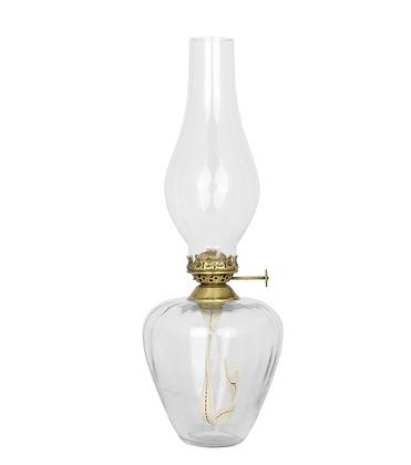 LAMPE A HUILE EN VERRE