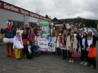 Fußgruppe des Karnevalsvereins Hallscheid