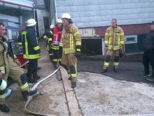 Gemeinschaftsübung der freiwilligen Feuerwehren Scheid, Ormont, Stadtkyll, Hallschlag und Kronenburg