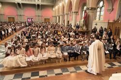 Communiants de la Mission portugaise
