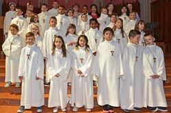 Communiants du Sacré-Coeur