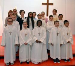 Communiants de Notre-Dame de la Paix
