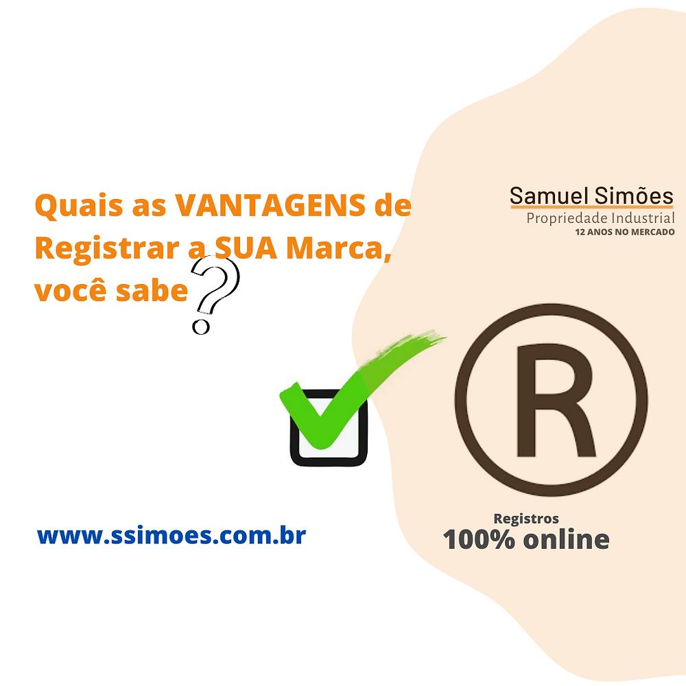 Vantagem Registrar Marca