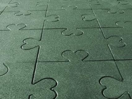 4 Cm Puzzle Kauçuk Zemin