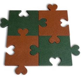 3 Cm Puzzle Kauçuk Zemin