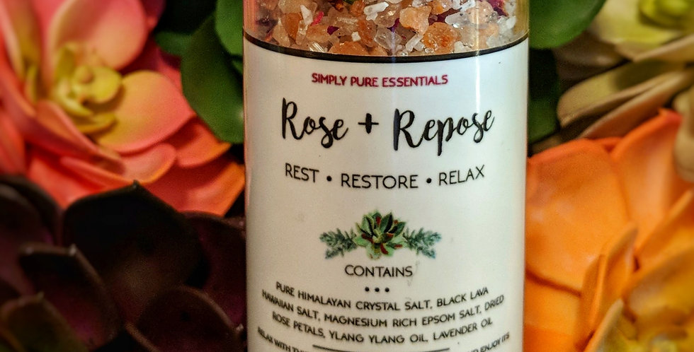 Rose and Repose Bath Salt