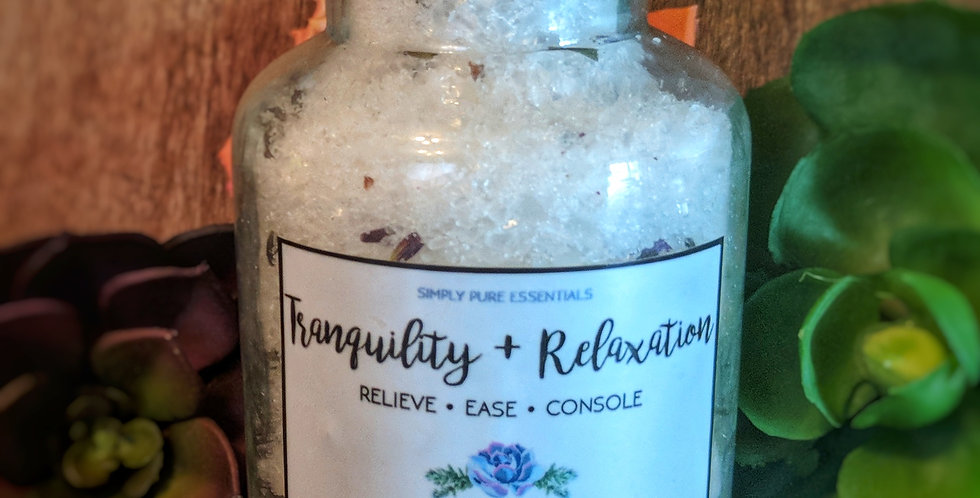 Tranquility and Relaxation Bath Salt