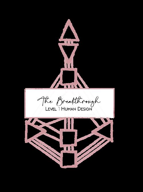 The Breakthrough - Level 1 Reading