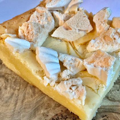 Lemon Meringue Pie Blondie