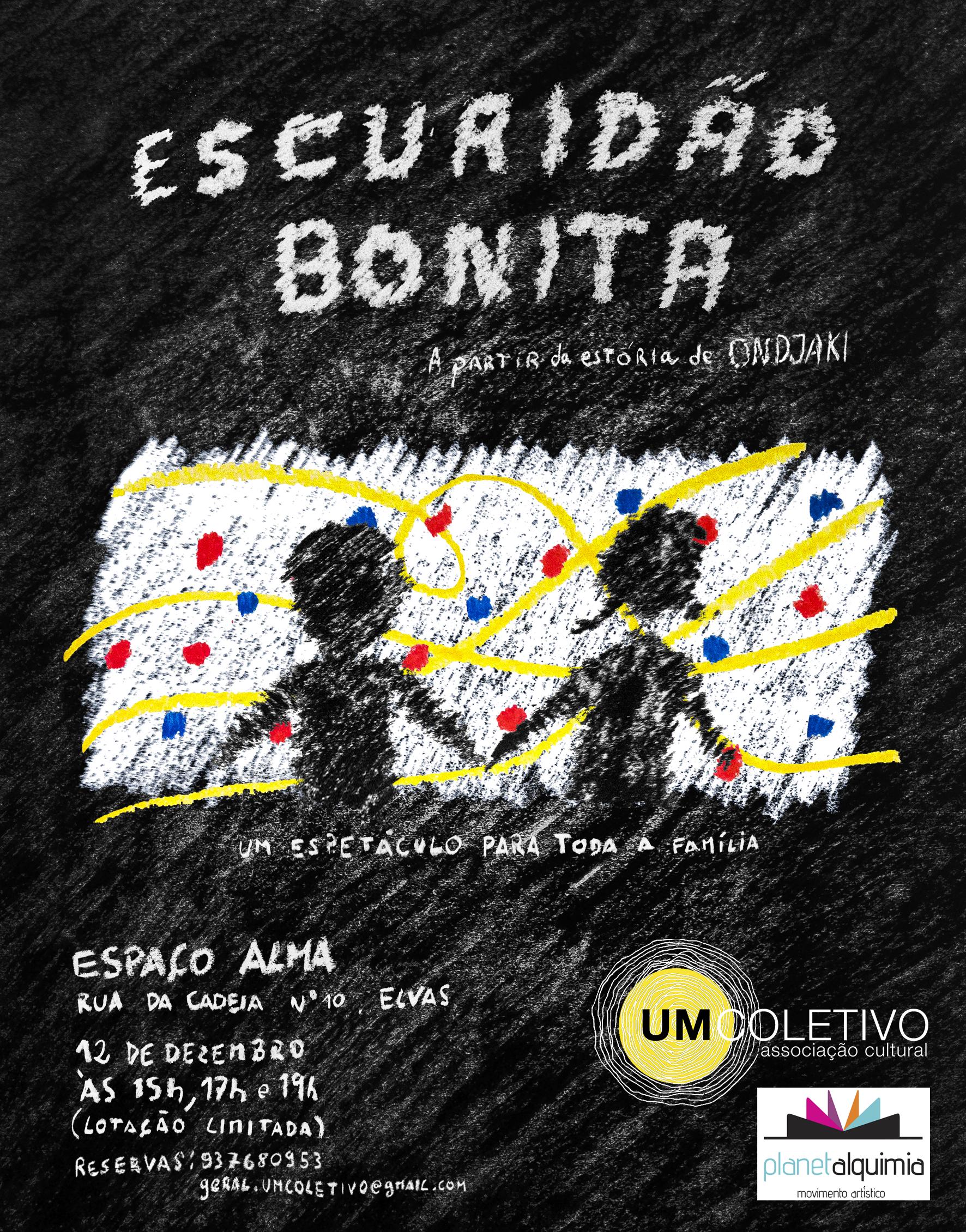 Poster do espetáculo em Elvas