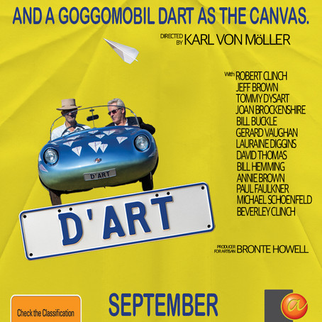 Finally after 3 years our documentary 'D'art' about the Goggomobil art car is being released!