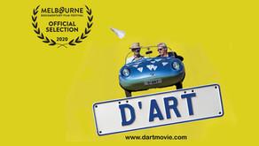 "Cinema Australia - Official Selection Melbourne Documentary Film Festival ""D'art a quirky art doc"""