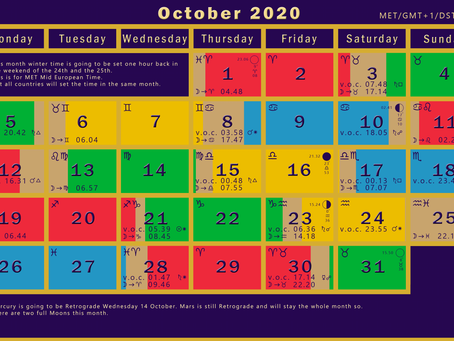 How to use the V.o.C. calendar
