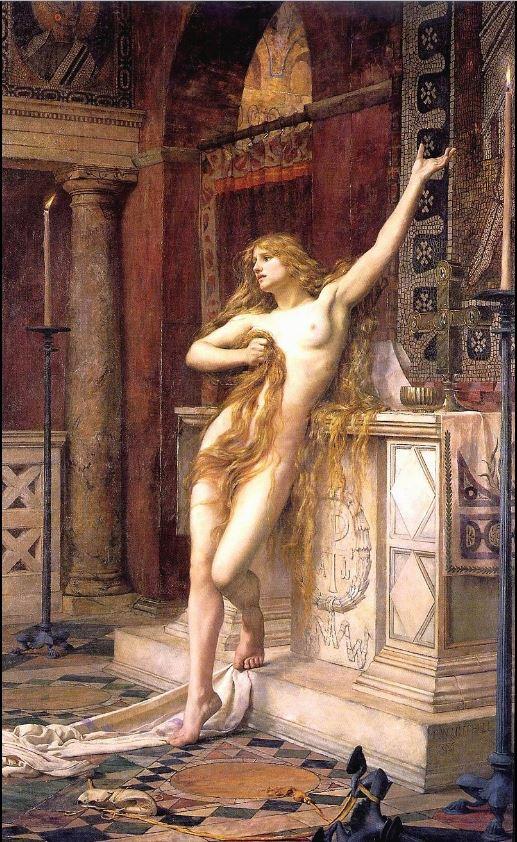 1 Hypatia , philosopher in Alexandria
