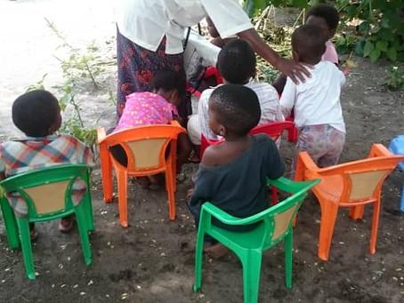 Depuis le mois d'août 2019, l'orphelinat de Kinshasa accueille ses premiers enfants