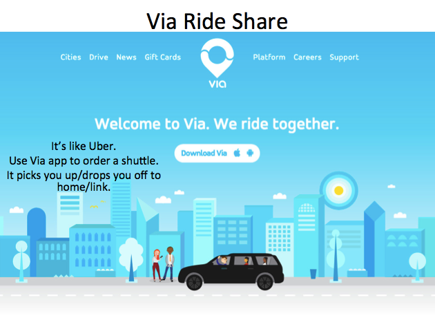 Pick up service from/to home<>Link