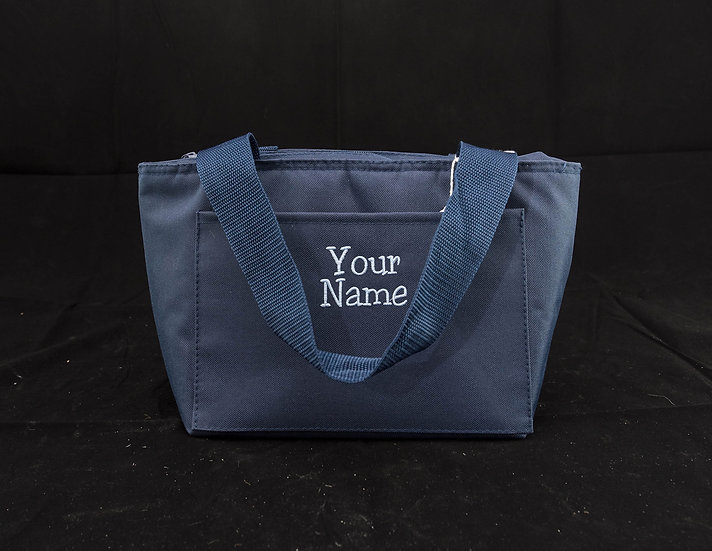 Lunch Bag, Insulated - Navy Blue