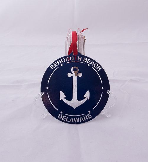 Ornament - Rehoboth Beach - Anchor
