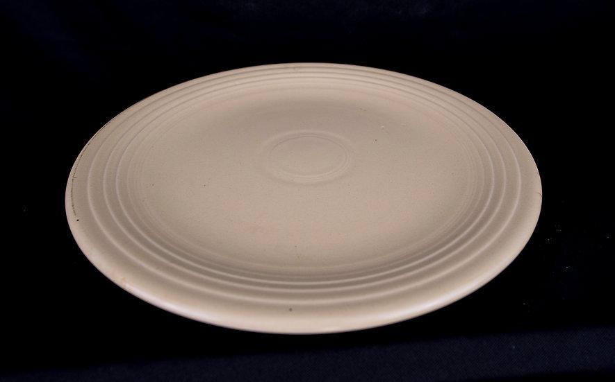 Fiestaware - Dinner Plate - Ivory
