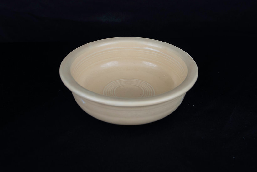 Fiestaware - Nappy Bowl - Ivory