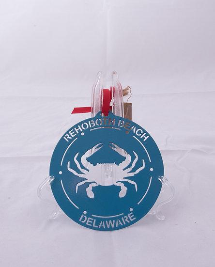 Ornament - Rehoboth Beach - Crab