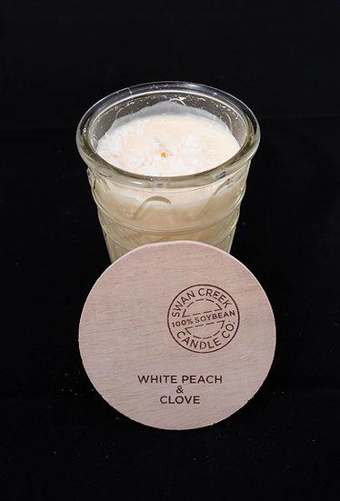Timeless Jar Candle - White Peach & Clove