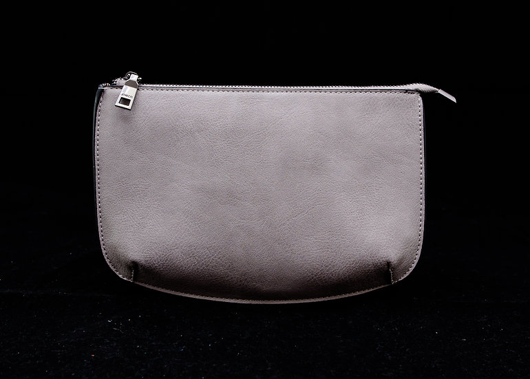 Two Compartment Crossbody/Clutch - Champagne