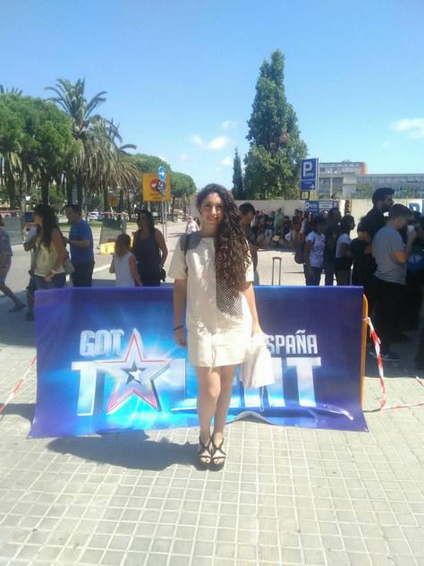 Aleshandra Timbel en el cásting Got Talent España (septiembre'15)