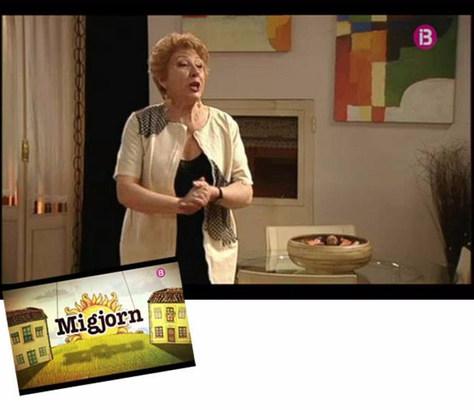 """Laura Pons en la serie """"Migjorn"""""""
